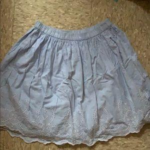 Gapkids light blue skirt